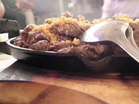 filet aperitivo com alho